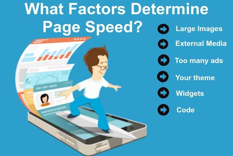 چه عواملی سرعت صفحه را مشخص می کند؟