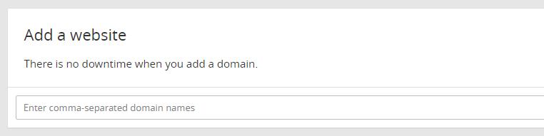 اضافه کردن وب سایت به کلودفلر