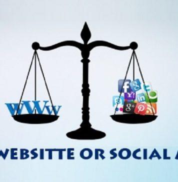 وب سایت یا شبکه های اجتماعی