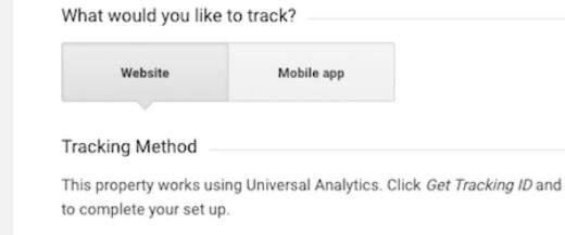 ایجاد یک دارایی جدید در گوگل آنالیتیکس