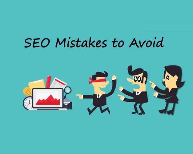5 اشتباه رایج سئو که باید از آن اجتناب کنید