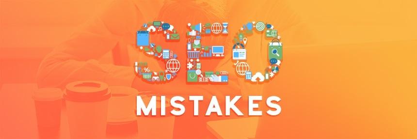 اشتباهات سئو و بهینه سازی