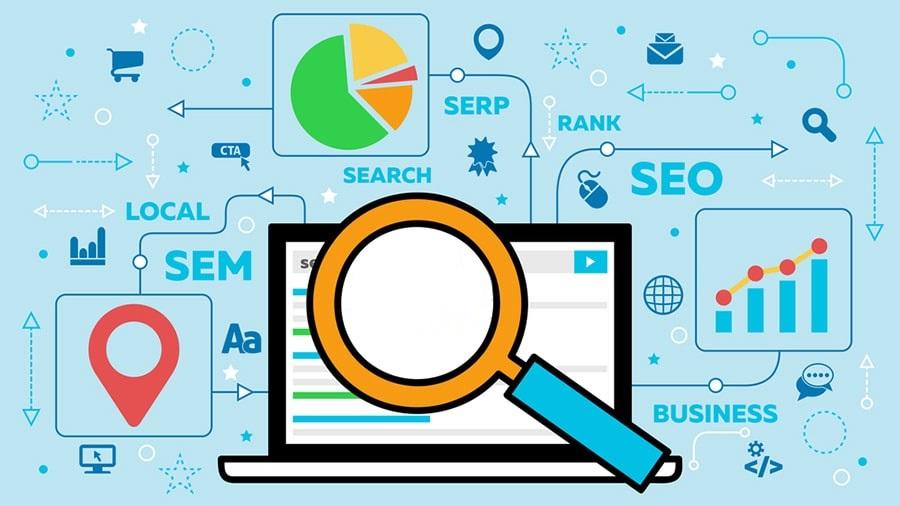صفحه نتایج موتور جستجو (SERP)