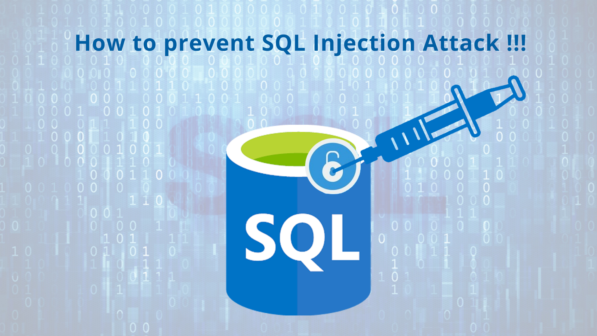 حملات SQL injection چیست
